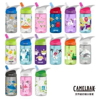 【CAMELBAK】400ml eddy兒童吸管運動水瓶 獨角獸派對(CB1274610040)