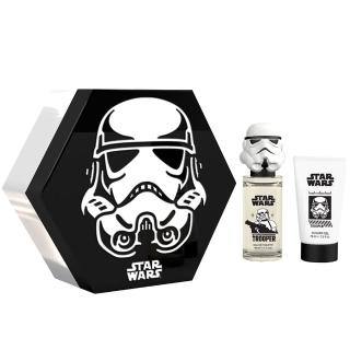 【STAR WARS 星際大戰】Storm Trooper 帝國風暴兵3D公仔淡香水禮盒(淡香水 50ml+沐浴膠 75ml)