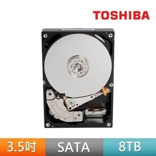 【TOSHIBA 東芝】2入組 Galaxy SATA 企業級硬碟 8TB 3.5吋 SATAIII 7200轉硬碟 五年保固(MG05ACA800E)