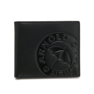 【Arnold Palmer】基本短夾 BATMEN系列(黑色)