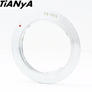 【Tianya天涯】Pentax賓得士PK鏡頭轉成Canon佳能EOS接環的鏡頭轉接環(鏡頭轉接環 轉接環)