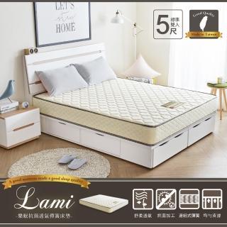 【H&D】樂咪抗菌透氣彈簧床墊-雙人5尺(抗菌透氣 彈簧床墊 雙人床墊)