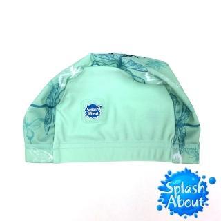 【Splash About 潑寶】Swim Hat 抗UV泳帽(花漾蜻蜓)