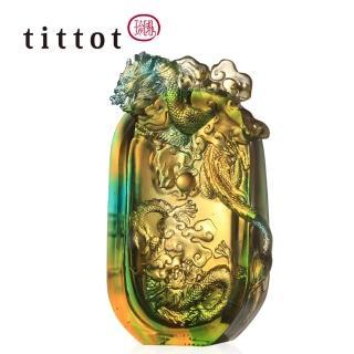 【tittot 琉園】在握(故宮聯名款、適合各式送禮、藝品欣賞、琉璃作品、水晶玻璃品)