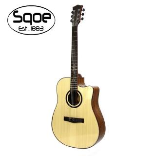 【SQOE】SQ-DC-SK 民謠木吉他(原廠公司貨 商品品質有保障)