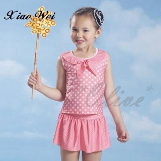 【小薇的店】泳之美品牌時尚女童二件式泳裝(NO.67783)