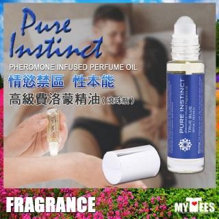 【美國 PURE INSTINCT】情慾禁區性本能 高級費洛精油 滾珠瓶 Pheromone Infused(費洛蒙香 美國製造)