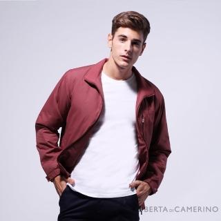【ROBERTA 諾貝達】台灣製 都會機能 防潑水 厚鋪棉夾克外套(ROD75-78紅色)