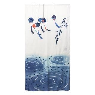 風鈴長門簾175x88cm魚(HCJ8511)