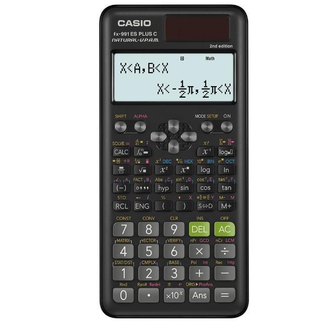 【CASIO 卡西歐】團購50台-12位數工程型計算機(FX-991ES PLUS)