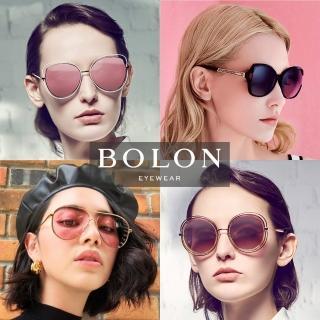 【BOLON 暴龍】知名大牌時尚流行男仕女仕墨鏡太陽眼鏡(安海瑟薇海莉鮑德溫代言-時尚熱門經典墨鏡多款任選)