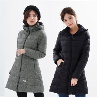 【遊遍天下】女款長版顯瘦防風防潑羽絨外套22020多色(M-5L)