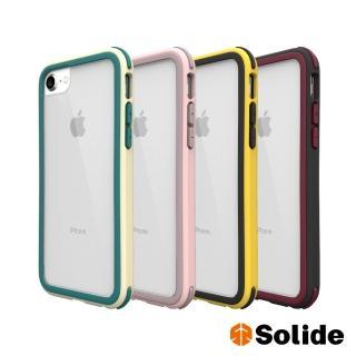 【SOLiDE】維納斯 iPhone SE2/8/7/6 玩色軍規防摔手機殼(iPhone SE2/8/7/6)