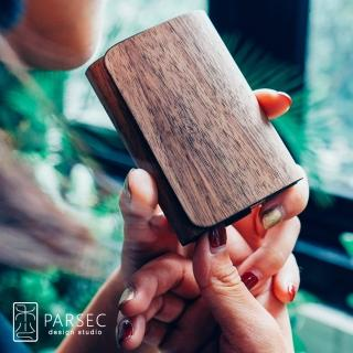 【PARSEC】樹革胡桃名片夾