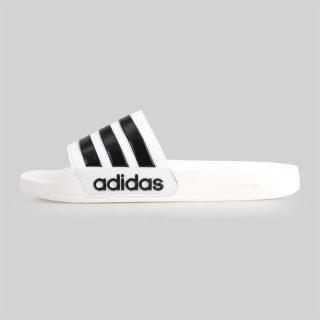 【adidas 愛迪達】ADILETTE SHOWER 男女運動拖鞋-海灘 愛迪達(AQ1702)