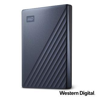【WD 威騰】My Passport Ultra 2TB 2.5吋USB-C行動硬碟(星曜藍)