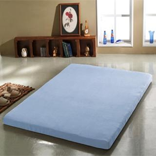 【班尼斯】5公分惰性記憶矽膠床墊-附3M吸濕排汗布套(全平面-6尺雙人加大)