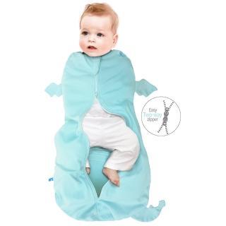 【荷蘭 wallaboo】2合1可愛動物包巾+睡袋/M/6-8.5kg(包巾 睡袋二合一設計 方便又實用)