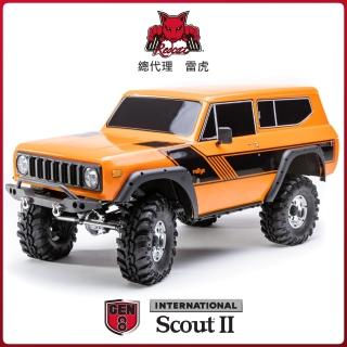 【Redcat Racing】GEN8 SCOUT II 1/10 電動四驅攀岩車 橘6050RT-11291(攀岩車)