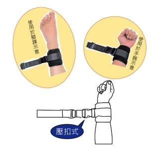 【感恩使者】安全束帶 - 手腳綁帶 舒適束帶 2入 壓扣式 ZHCN1901-A(不含木製固定片)
