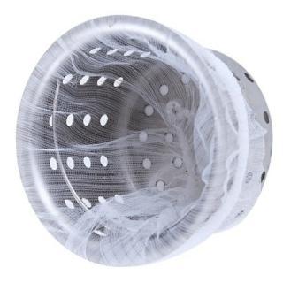 【Ainmax 艾買氏】宅生 流理台排水口濾網 濾水網 阻擋菜渣雜物( 出貨 共150入)