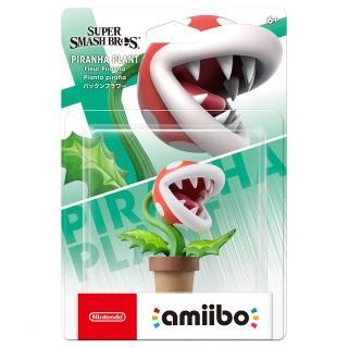 【Nintendo 任天堂】amiibo公仔 吞食花(明星大亂鬥)