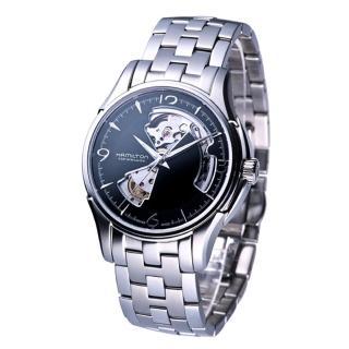【HAMILTON 漢米爾頓】JazzMaster經典鏤空機械錶(H32565135)