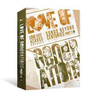 【金革唱片】情歌世代2 - 西洋流行情歌經典 1950-1989(6CD+1書)