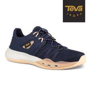 【TEVA】原廠貨 女 Terra-Float Churn 輕量水陸休閒鞋(深藍-TV1099435ECL)