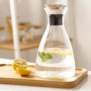 【極簡美學】經典 北歐風 高質感 流線型 SOLO 耐熱 玻璃 冷水壺(1600ml)