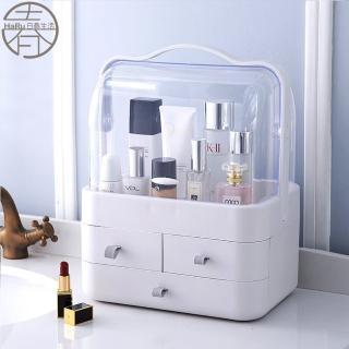 【家工廠】日式和風手提大化妝盒(收納盒 彩妝箱 化妝箱 化妝品收納)