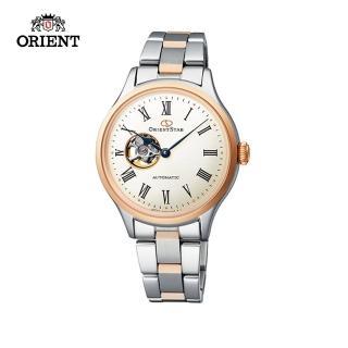 【ORIENT 東方錶】ORIENT STAR 東方之星 CLASSIC系列 縷空機械錶 女生鋼帶款 玫瑰金色 30.5mm(RE-ND0001S)