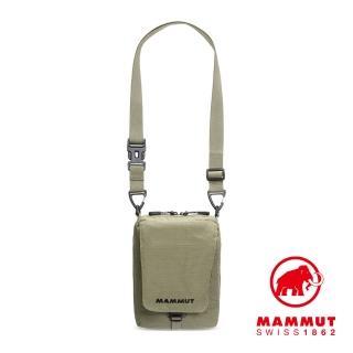 【Mammut 長毛象】Tasch Pouch Melange 2L 耐磨混色側背包 橄欖綠 #2520-00651(耐磨混色側背包)