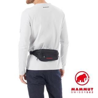 【Mammut 長毛象】Classic Bumbag 多功能隨身腰包 2L 黑色 #2520-00470(多功能隨身腰包)