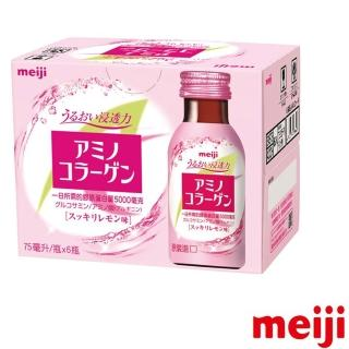 【Meiji 明治】膠原蛋白飲75mlx6瓶(膠原蛋白)