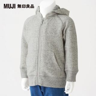 【MUJI 無印良品】幼兒有機棉混柔軟?毛連帽外套(共3色)