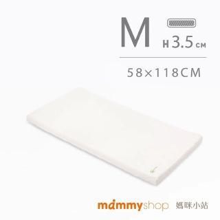 【mammyshop 媽咪小站】VE系列-嬰兒護脊床墊M號 厚3.5cm(58 x 118cm)
