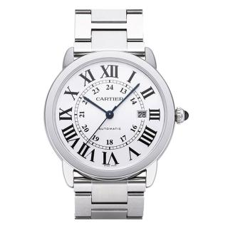 【Cartier 卡地亞】RONDE SOLO 經典大型鍊帶腕錶x42mm(W6701011)