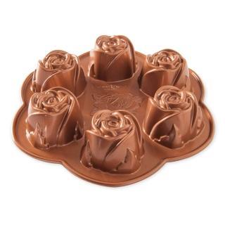 【Nordicware】玫瑰花蕾烤模(85148/蛋糕模)