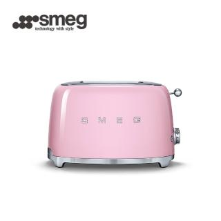 【SMEG】2片式烤麵包機-粉紅色(TSF01PKTW 公司貨)