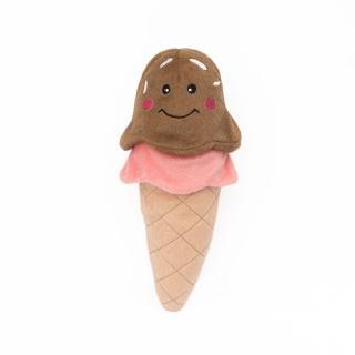 【ZippyPaws】美味啾關係-甜筒霜淇淋  有聲玩具(寵物玩具 有聲玩具)