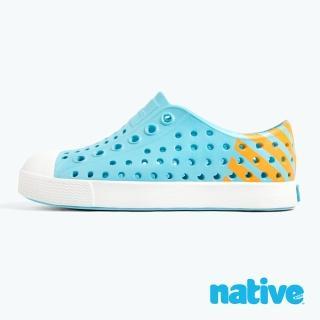【native】JEFFERSON BLOCK 小童鞋(濕地藍x夜光橘)