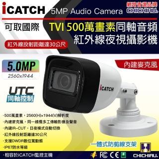 ~CHICHIAU~四合一 AHD TVI CVI CVBS 1080P SONY 200萬畫素 高清6陣列燈監視器攝影機
