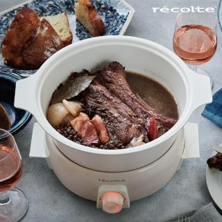 【recolte 麗克特】1.9L Tanto調理鍋(含章魚燒烤盤)