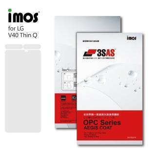 【iMos】LG V40 ThinQ(3SAS 螢幕保護貼)