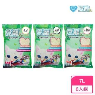 【愛寵】豆腐貓砂7L(六包入)/