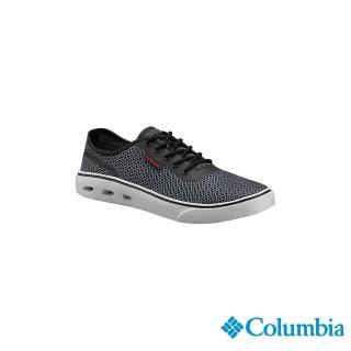 【Columbia 哥倫比亞】男款-水陸休閒鞋-黑色(UBM46260BK/越野.運動.靴子)