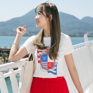 YAKPAK猴-航海渡假時尚美國棉上衣2+2