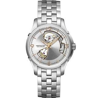 【HAMILTON 漢米爾頓】JazzMaster 經典鏤空機械錶(H32565155)