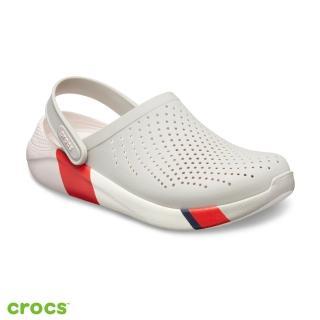 【Crocs】中性鞋 LiteRide撞色克駱格(205627-115)